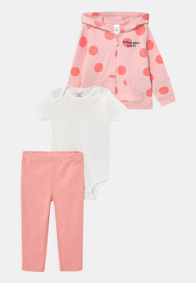 DOT SET - T-shirt basic - pink