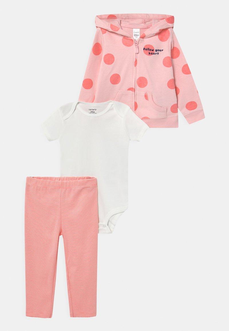 Carter's - DOT SET - Basic T-shirt - pink