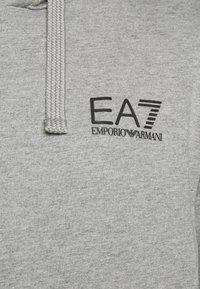 EA7 Emporio Armani - FELPA - Felpa con cappuccio - grey melange - 5