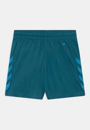 CORE POLY UNISEX - kurze Sporthose - blue coral