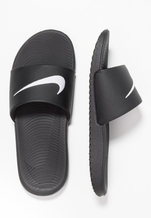 KAWA  - Pool slides - black/white