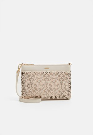 CROSSBODY BAG - Schoudertas - ecru