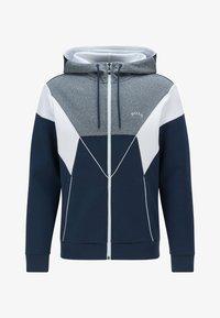 BOSS - SAGGY  - Sweater met rits - dark blue - 4