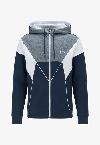 SAGGY  - Zip-up sweatshirt - dark blue