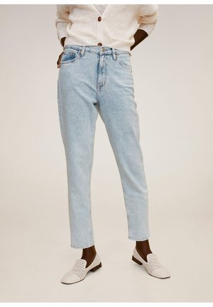 NEWMOM - Jeans a sigaretta - bleu délavé