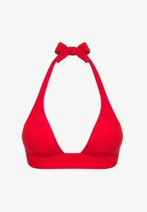 DONIA - Bikini top - red