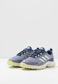 adidas Golf - RESPONSE BOUNCE 2 SL - Obuwie do golfa - tech indigo/footwear white/yellow tint - 2