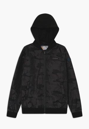 THESSEL - Light jacket - deep black