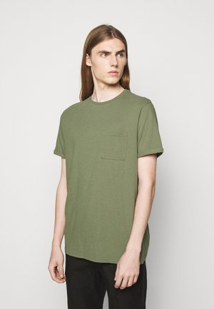 BRENON - Basic T-shirt - lichen green