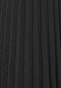 ONLY - ONLDORA MIDI PLISSE SKIRT - A-line skirt - black - 2