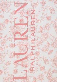 Lauren Ralph Lauren - ALEXA - Halsdoek - cream/pink - 2