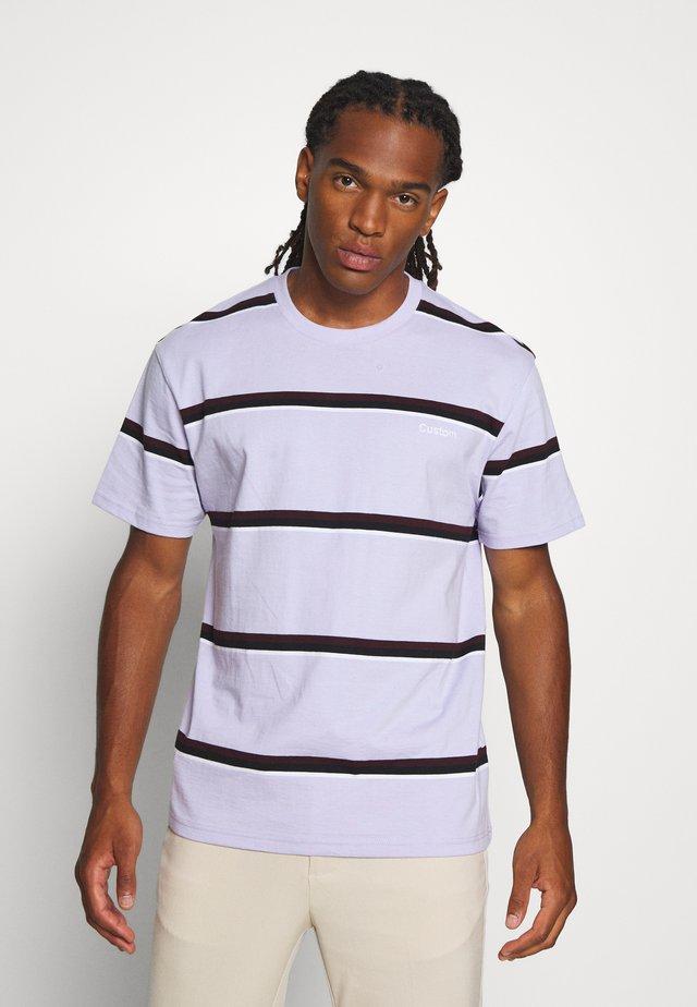 LIL CUST GRADIENT - T-shirt imprimé - lilac