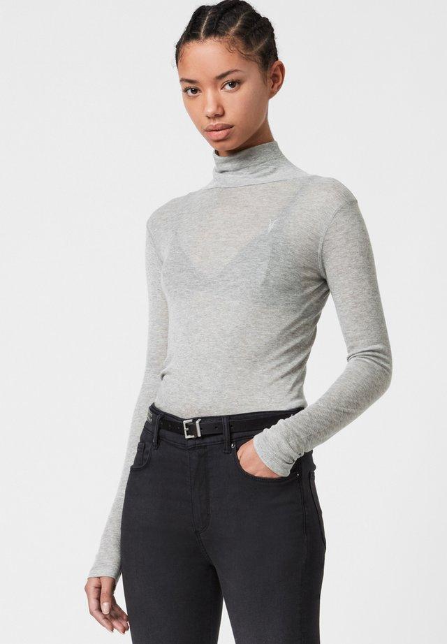 FRANCESCO ROLL NECK - T-shirt à manches longues - grey