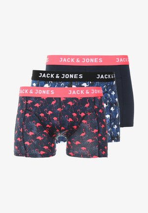 JACCORK TRUNKS 3 PACK - Shorty - nautical blue