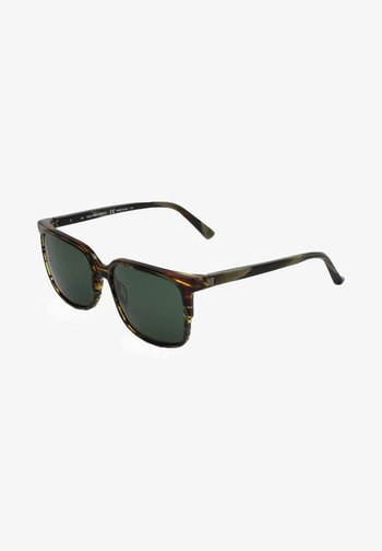 Sunglasses - green/tortoise