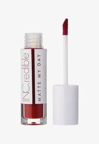 INC.redible - INC.REDIBLE MATTE MY DAY LIQUID LIPSTICK - Liquid lipstick - 10072 i'm very busy - 0