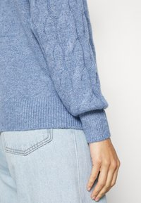 GAP - JAC CABLE SLOUCHY - Jumper - denim blue heather - 6