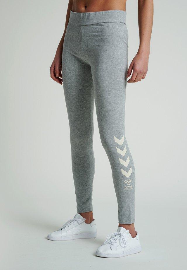 HMLSADIA - Collants - grey melange