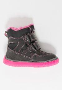 Lurchi - JAUFEN TEX - Winter boots - grey/pink - 1