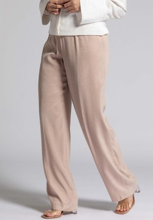 Trousers - dunkles altrose