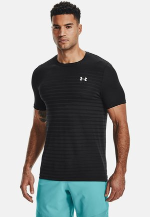 SEAMLESS FADE - Sports shirt - black