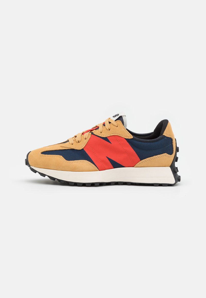 New Balance - 327 UNISEX - Trainers - beige/red