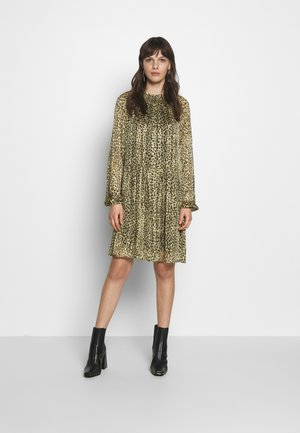 UMA DRESS - Day dress - olive night floating