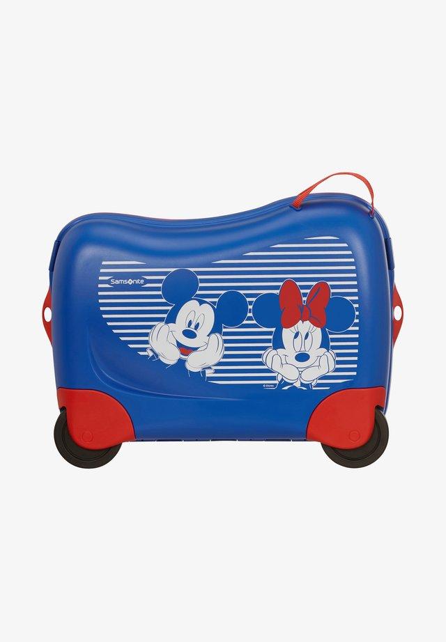 ZUM DRAUFSITZEN - Wheeled suitcase - dark blue