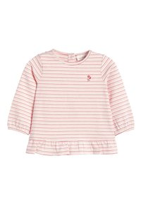 Next - ECRU/PINK 3 PACK DUCK AND FLORAL T-SHIRTS (0MTHS-3YRS) - Longsleeve - pink - 2