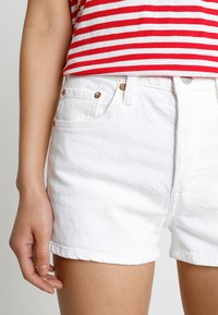 Levi's® - 501 HIGH RISE - Szorty jeansowe - in the clouds - 3
