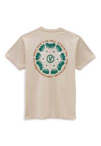 Vans - MN WINTER BLOOM SS - Print T-shirt - oatmeal - 1