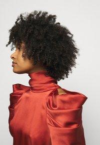 Temperley London - ANITA GOWN - Occasion wear - dark amber - 3
