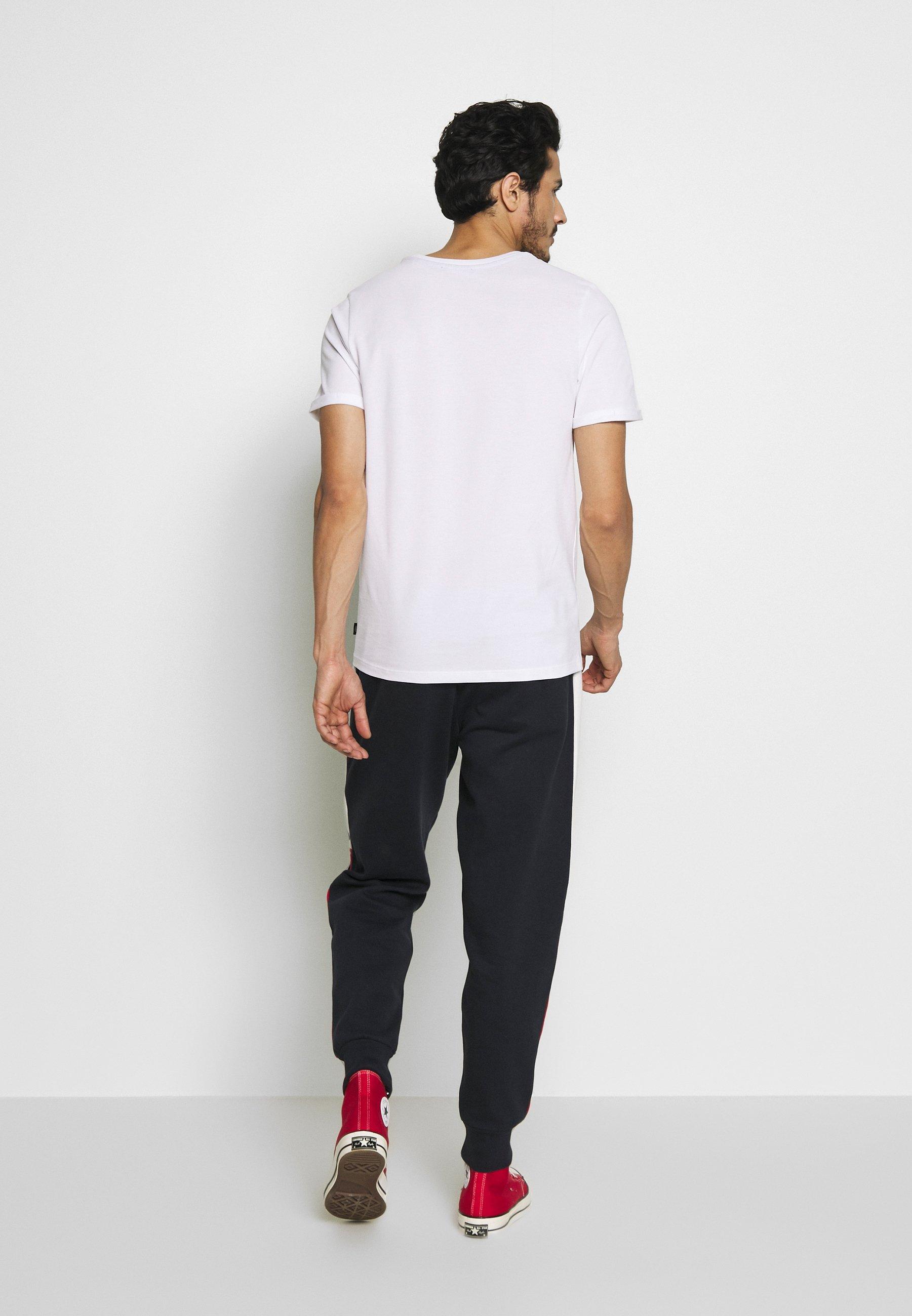 Jack & Jones PREMIUM JPRBLAHARDY TEE CREW NECK - Basic T-shirt - white z6awk