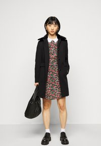 Dorothy Perkins Petite - DOLLY COAT   - Classic coat - black - 1