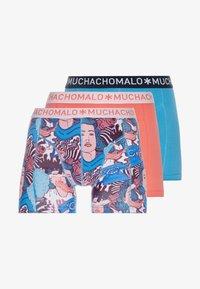MUCHACHOMALO - POPRT 3 PACK - Shorty - coral/petrol - 3