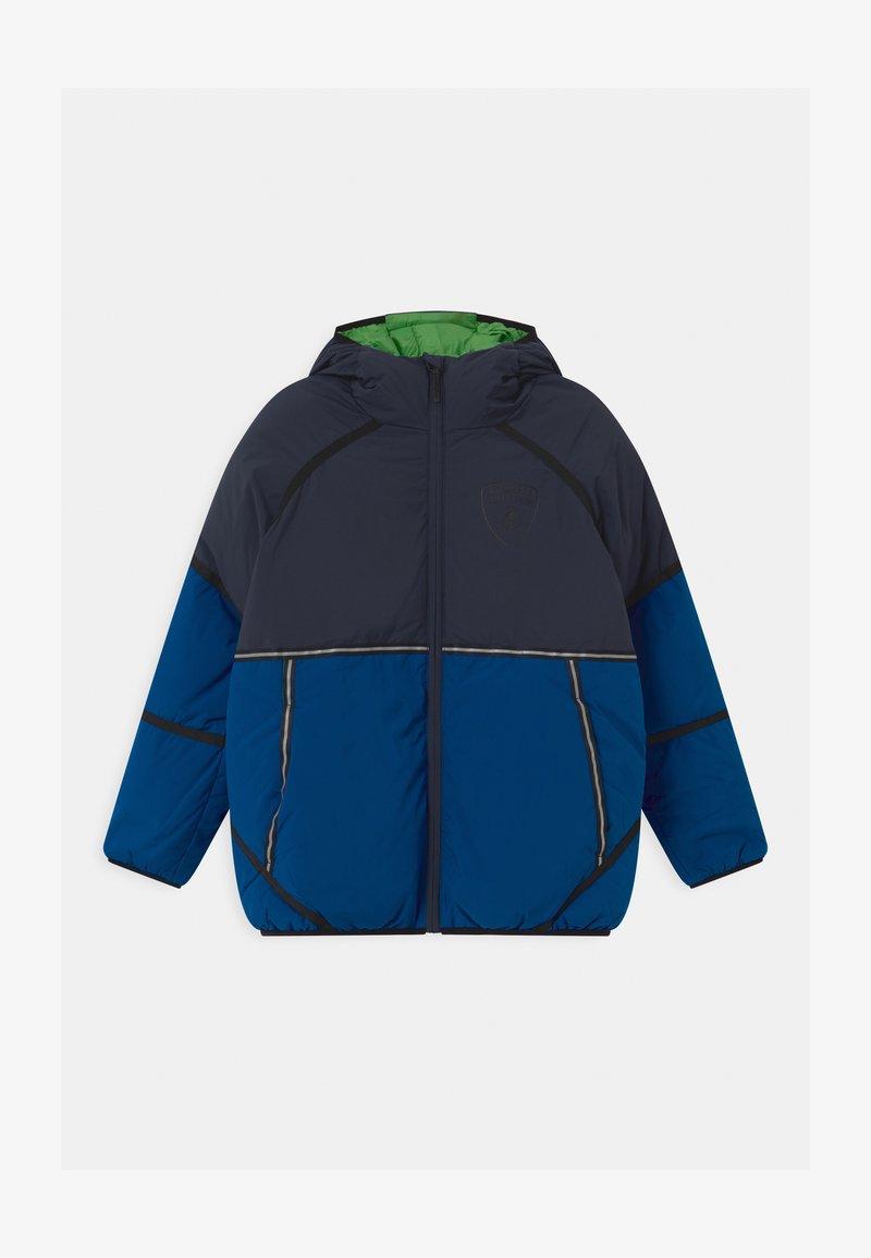 Automobili Lamborghini Kidswear - CONCEPT TAPE  - Winter jacket - blue hera
