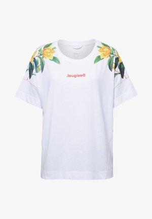 TS_EDEN - Print T-shirt - white