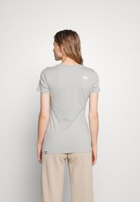 The North Face - EASY TEE - Print T-shirt - wrought iron - 2