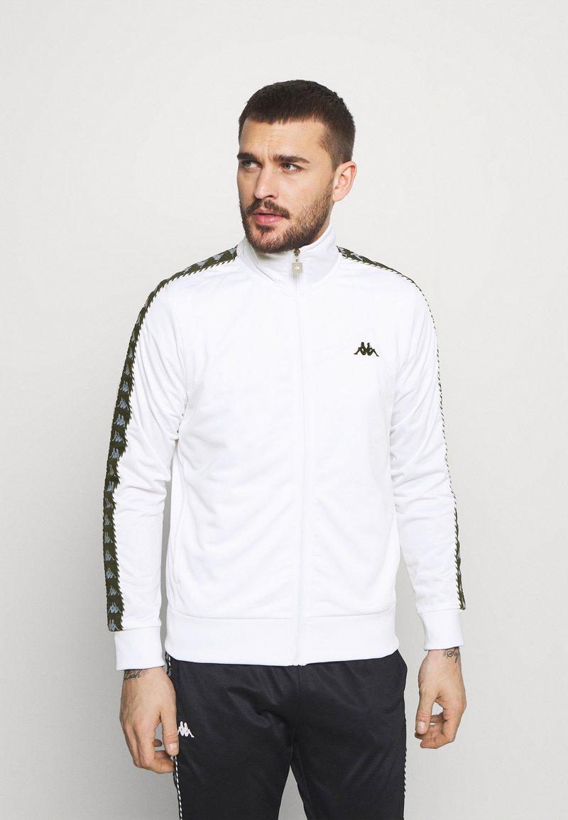 Kappa - IMANUEL - Træningsjakker - bright white