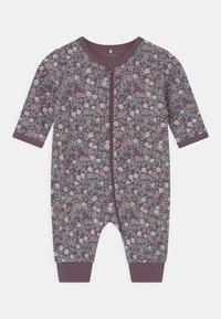 Name it - NBFNIGHTSUIT 2 PACK - Pyjamas - black plum - 2