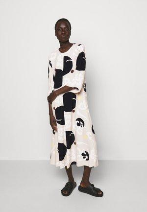 PEILAUS KORNETTI DRESS - Day dress - beige / black / off white