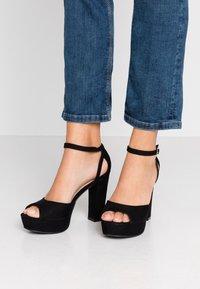 Anna Field - Korolliset sandaalit - black - 0