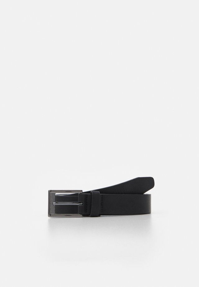 TEXT BUCKLE BELT - Gürtel - black