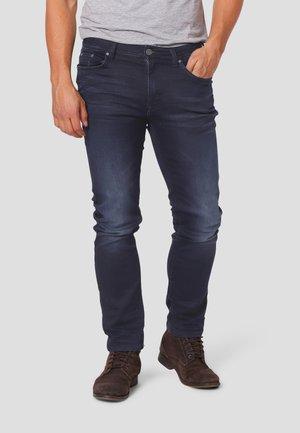 Straight leg jeans - blue night wash