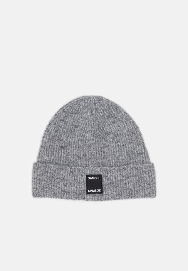 BERNICE HAT - Beanie - grey melange