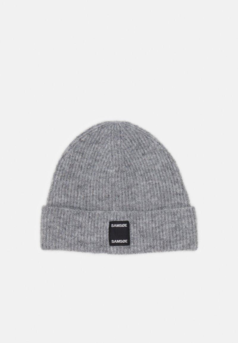 Samsøe Samsøe - BERNICE HAT - Beanie - grey melange