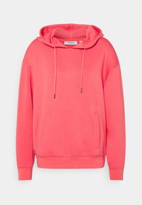 Moss Copenhagen - LOGO HOOD  - Sweatshirt - rose of sharon - 0