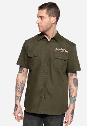 Overhemd - olivgrün