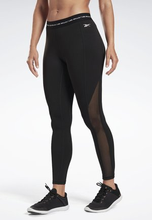 LES MILLS® HIGH-RISE TIGHTS - Tights - black