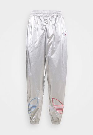 JAPONA - Tracksuit bottoms - silver